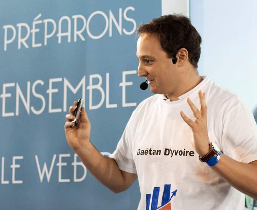Gaétan d'Yvoire - Conférencier Web2Connect