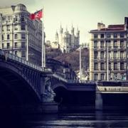 Lyon - Fourvière et le Rhône
